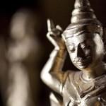 A golden figure in Bagan © Gemima Harvey 2012