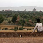 A boy takes in the beauty of Bagan  © Gemima Harvey 2012