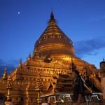 Shwezigon Pagoda in Bagan © Gemima Harvey 2012